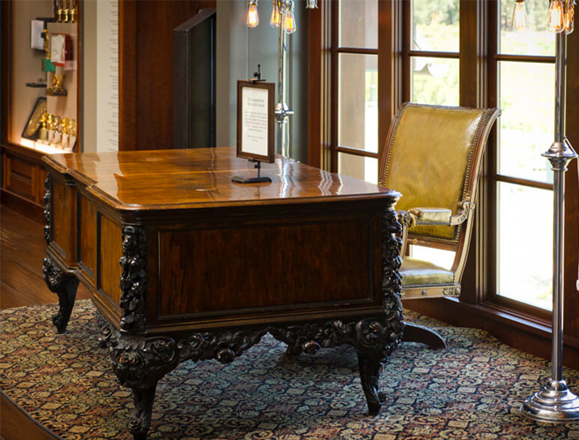 """Desk from """"The Godfather"""" film."""